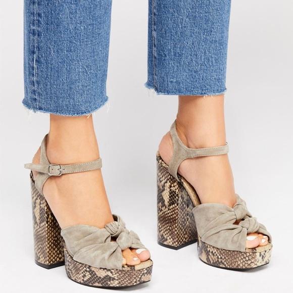 Free People Shoes Jeffrey Campbell X Jessa Platform Heel Poshmark